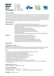 Web Design Resume Sample | Resume Samples