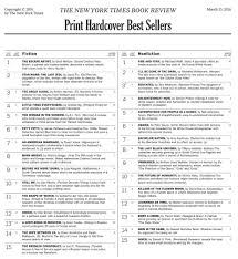 New York Times Book Best Seller Charts How To Get On The Ny Times Other Bestseller Book Lists