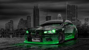 mitsubishi lancer evolution x crystal city car