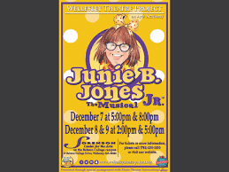 Time to make a drawing by junie b. Junie B Jones Jr Presented By Wellesley Theatre Project Wellesley Ma Patch
