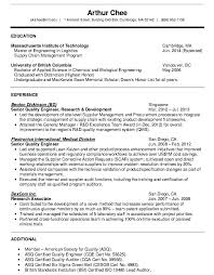 Engineering Manager Resume Examples Awesome Qa Manager Resume Sample Quality Control Experience Assurance Yomm