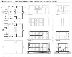 Esherick House : Kahn | houses | Pinterest | Esherick house, Louis kahn and  House
