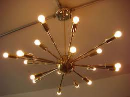 atomic lighting. fine lighting image is loading polishedbrassatomicsputnikstarburstlight fixturechandelier and atomic lighting