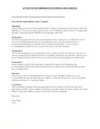 Sample Of Personal Letter Of Recommendation Letter Of Recommendation For A Friend And Colleague