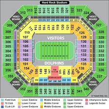 Miami Dolphins Seating Chart Zoofc Org