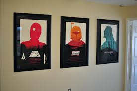 star wars framed poster moss star wars trilogy framed and hung no flash by star wars framed poster