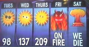Image result for really hot weather