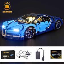 Lego Bugatti Chiron Light Kit Installation Lightailing Led Light Kit For Technic Series 42083 Chiron