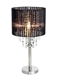 shaded chandelier lamp made with love designs ltd chandelier bedside table lamp