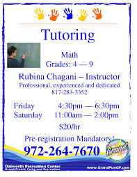 tutoring flyer template best photos of word private sample it