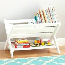 kids book caddy kids book bins white book bin in bookcases the land of nod by