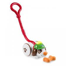 <b>Каталка</b>-игрушка <b>Chicco Собака</b> Шерлок - Акушерство.Ru