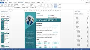 2 Pages Cv With Microsoft Word Free Docpdf
