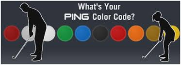 Ping Color Dot System Chart Ping Golf Club Online Charts Collection
