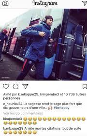 Mbappé Et Kimpembe Chambrent Nkunku Et Ses Citations Sur Instagram