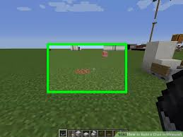 how to make a chair in minecraft. Image Titled Build A Chair In Minecraft Step 1 How To Make