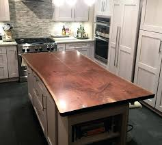 live edge wood brooks custom island tops diy
