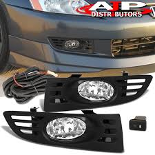2003 Honda Accord Coupe Fog Lights Details About For 03 05 Honda Accord Coupe 2dr Jdm Clear Lens Bumper Fog Lights Switch Kit