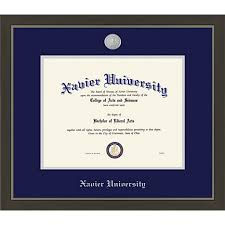 xavier university x metro diploma frame xavier university framing success xavier university 8 5 x 11 metro diploma frame