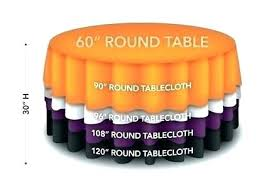 tablecloth for 60 inch round table round table cloth inch round table inch round table in