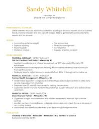Your introduction can help you achieve this by quickly highlighting your most impressive accomplishments and skills. Professional Banking Resume Examples For 2021 Livecareer