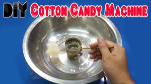 Light Up Cotton Candy Machine How To Make Cotton Candy Machine From Glow Plug