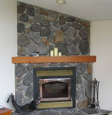 stone fireplace with beautiful mantel decorating ideas excellent large stone corner fireplace with wooden mantel