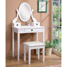 architecture wood vanity table amazing furniture of america doris solid and stool throughout 0