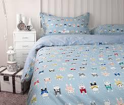 cartoon kids bedding set with casa boho duvet cover queen for ikea twin bed decor 7