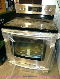 clean glass top stove what to use to clean flat top stove flat top stove outstanding