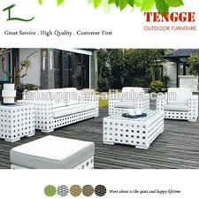 white garden furniture. Modern White Outdoor Ratan Garden Furniture R