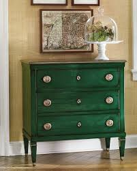 painted green furniture. Room Decor With Hand-painted Green Chest; Decorating Ideas Painted Furniture