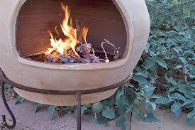 backyard fire pit with chimney gardenerspath com