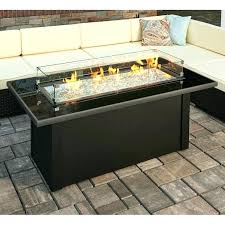 fire pit coffee table outdoor with propane