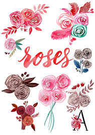 an easy way to paint rose blooms with tutorial to painting roses