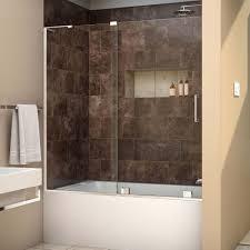 liberal frameless sliding shower doors for tubs sofa panel tubssliding tub