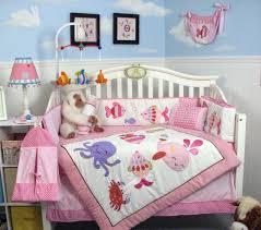under the sea baby girl crib bedding sets