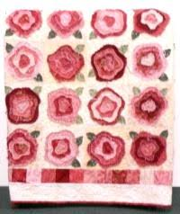 FRENCH ROSE QUILT PATTERN   Free Patterns   quilts/crafts i love ... & FRENCH ROSE QUILT PATTERN   Free Patterns Adamdwight.com