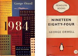 cover for new edition of orwell s 1984 is brilliant boing boing