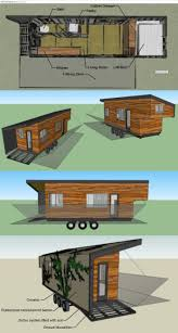 196 sq ft (+36sf loft) tiny house built using many reclaimed/recycled