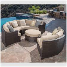 outdoor furniture costco elegant belmont 4 piece curved sectional set