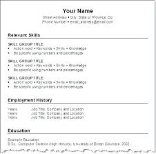 How To Format A Resume Stunning How To Format Resume Cool Microsoft Word Format Resume