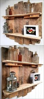 diy wood pallet projects unique. Easy And Cheap Wall Shelf Made Out Of Reclaimed Wood Pallets Diy Pallet Projects Unique