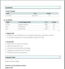 Simple Resume Formats Formatting A Resume In Word Creative Design