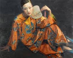chen yifei 陈逸飞 chen yifei april 1946 april was a famous chinese classic painter director and vision artist