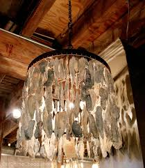 oyster s chandelier abalone s chandelier s ceiling light fixtures