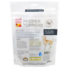 The Honest Kitchen Proper Toppers Grain Free Turkey Recipe - Honest kitchen dog food
