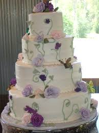 Butterfly Wedding Cake Brides Cake With Hand Made Edible Flickr