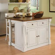 White Kitchen Island With Granite Top Shop Kitchen Islands Carts At Lowescom