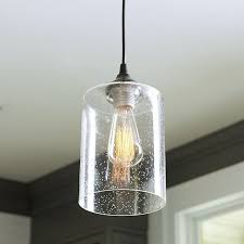 glass pendant lighting fixtures. plug in light adapter with seeded glass pendant shade lighting fixtures